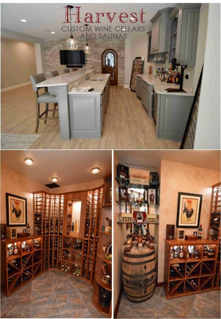 Custom Wine Cellar Designs by Builder in Richmond, Virginia