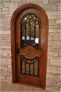 Custom Wine Cellar Doors for Cellar Construction Project