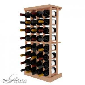 Wooden Wine Rack Kit: a product of Genuine Wine Cellars
