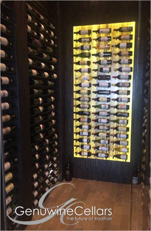 Tastefully Designed Contemporary Wine Racks by Genuine Wine Cellars