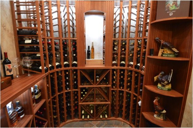 Wooden Wine Rack System