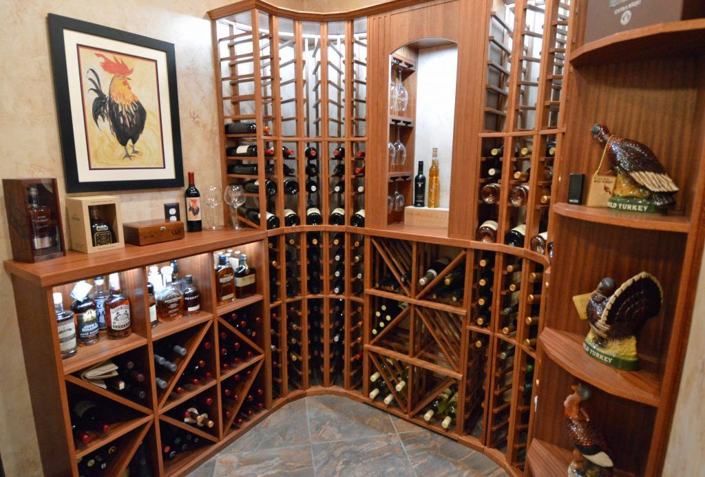 Custom Wine Racking Baltimore