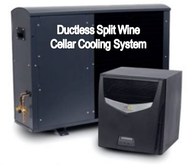 Wine Guardian Ductless Split Wine Cellar Refrigeration System