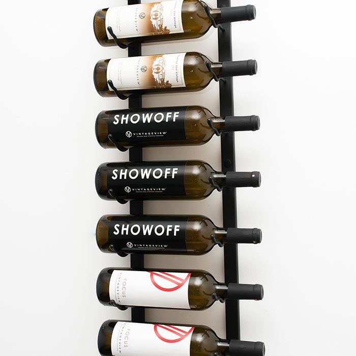 Wall Mounted Metal Wine Racks