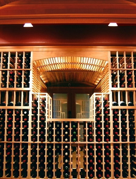 LED Wine Cellar Lighting System Home Wine Cellar in Maryland