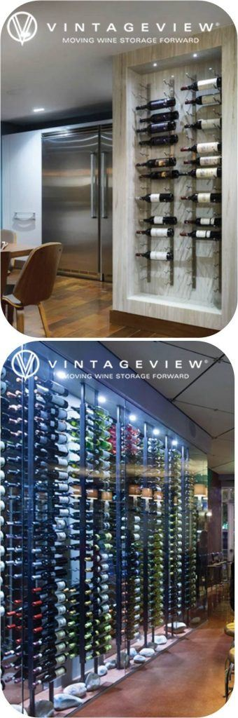 VintageView Metal Wine Racks Offered by Baltimore Builders