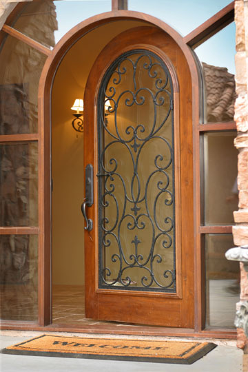 Elegant Wine Cellar Door Insulated by Baltimore Experts