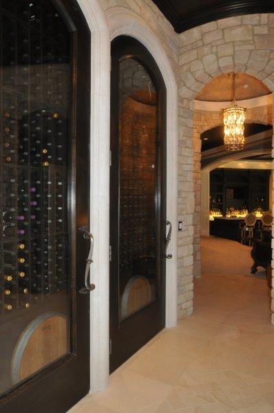 Wine Cellar Door Designed by Baltimore Experts