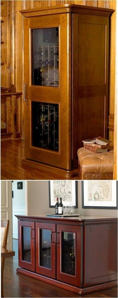 Wine Cabinets are Recommended by Baltimore Experts