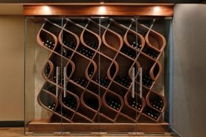 modern genuwine wine racking