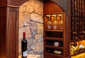 kessick reserve line custom wine rack