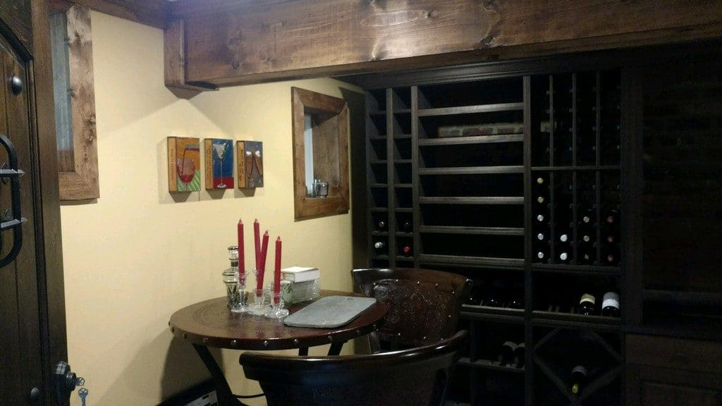 wine cellar table baltimore md
