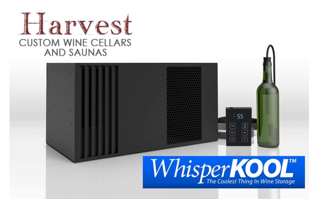whisperkool cooling system commercial residential wine cellar