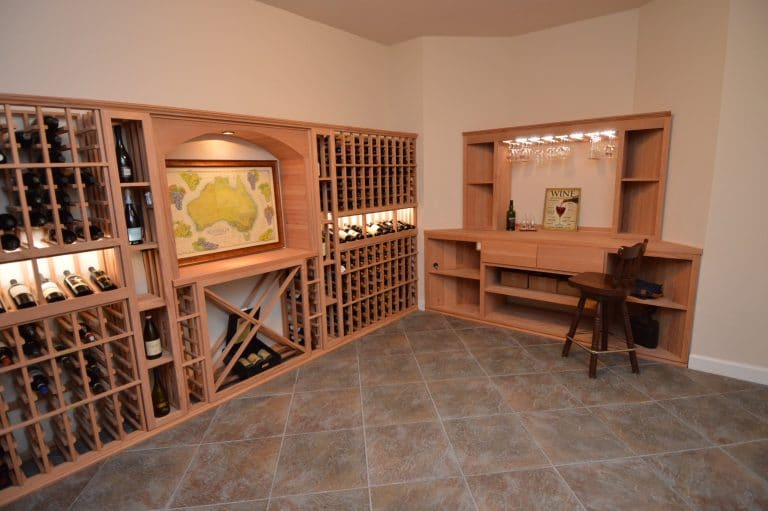 See more residential wine cellar design ideas here!