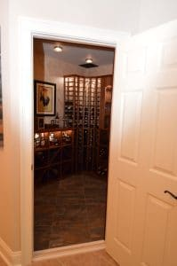 More of Harvest's wine cellar construction projects here!