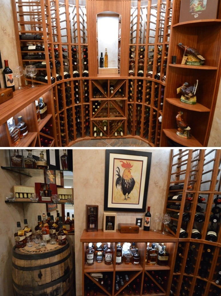Home Wine Cellar Built by Experts for Wine and Whiskey