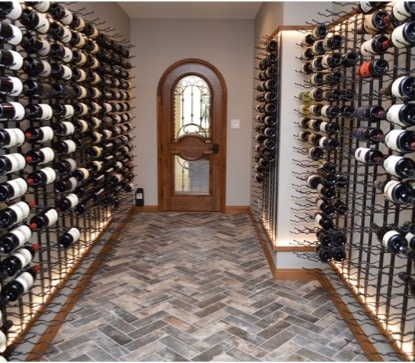 Home Wine Cellar in Richmond, Virginia